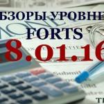 Обзор уровней FORTS 18.01.16