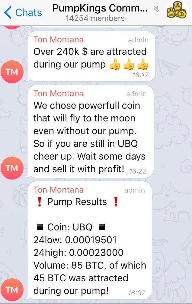 Сообщения на телеграмме «Сообщество PumpKings». Оскар Уильямс-Грут / Бизнес-инсайдер / Телеграмма